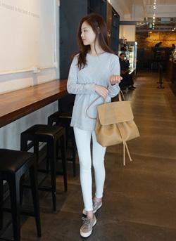 623 942 - Blanc bag lady