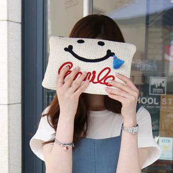 625 557 - Smile tassel bag <br>
