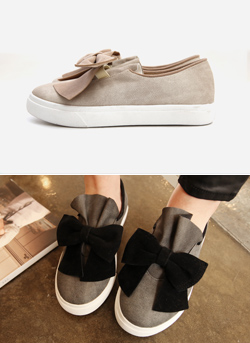617 207 - ribbon shoes sneakers <br>