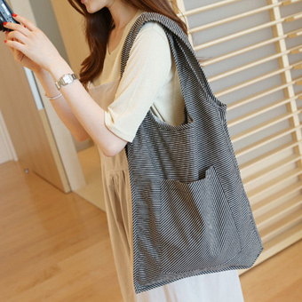 627343 - Striped eco-bag