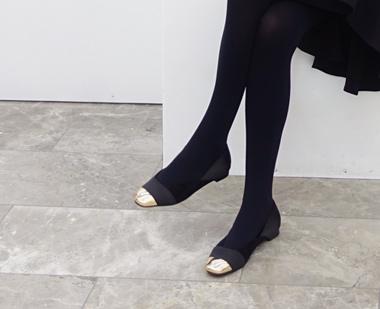 644053 - Golden Nose Flat shoes