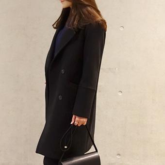 644861 - Mary Basic Coat (Black)
