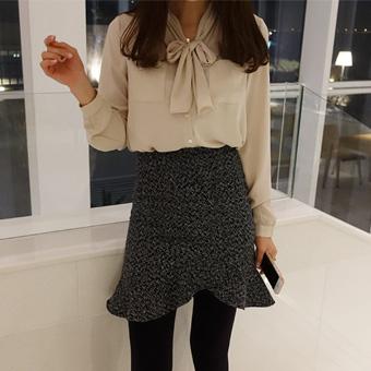 644862 - Tie blouse blouse