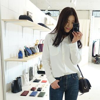 647203 - Plain basic shirt