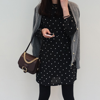 647253 - Deer dot dress