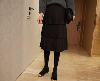 648192 - Rivers pleated skirt