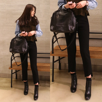 648811 - Slit pants slacks