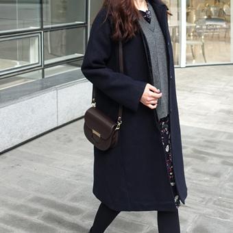 650603 - Wool Coat Single olnyu