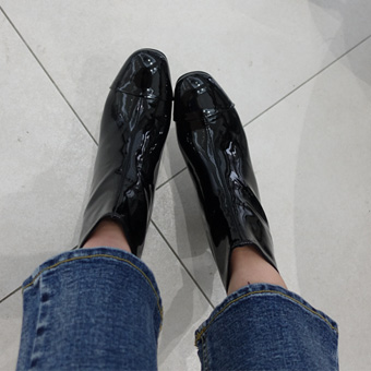 651367 - Glossy Ankle shoes