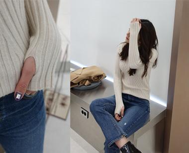 651366 - Polar Neck Knit Finger