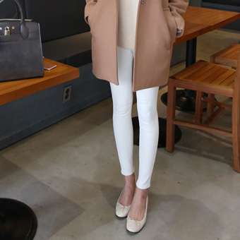651928 - Sheep brushed cotton skinny pants