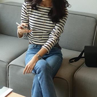 657201 - Marie striped T-shirt