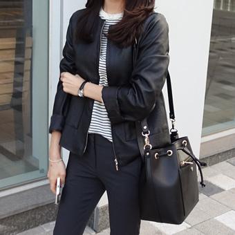 661061 - Nokara leather jacket