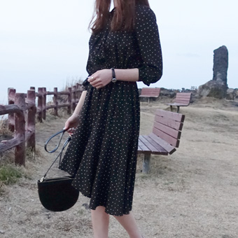 662307 - Marion's dot dress