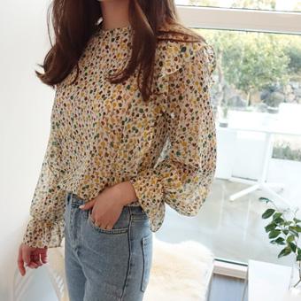 662302 - Vera tulip blouse