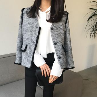 663669 - V tweed jacket