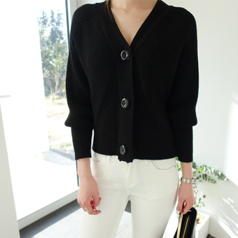 663672 - Cache Button Cardigan