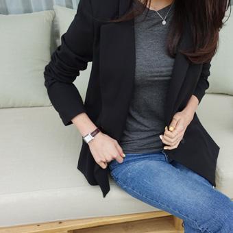 664020 - Stella slit jacket