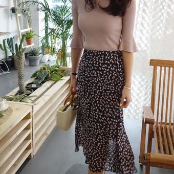 665400 - Irene chiffon skirt
