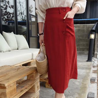 665778 - Jane Button skirt