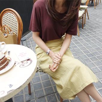 668616 - Plus linen T-shirt
