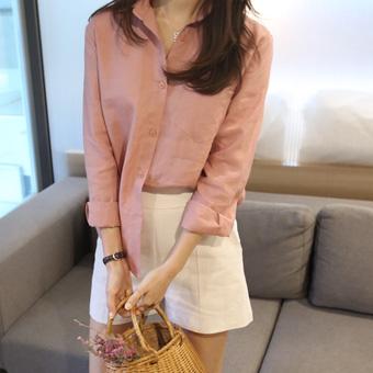 669162 - Millet linen shirt