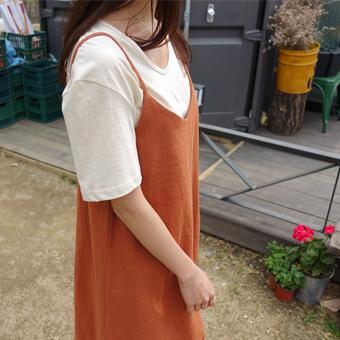 692489 - Cotton U-neck T-shirt