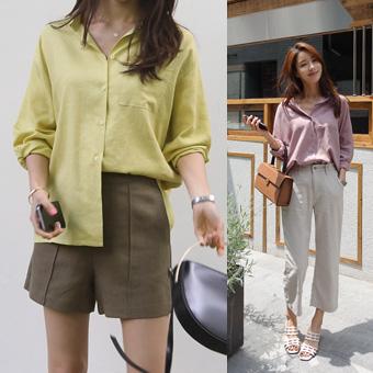 703776 - Linen shirt