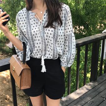 704514 - Soho Paisley blouse