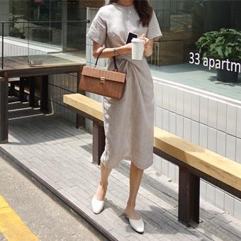 705011 - Tweed striped dress