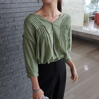 706301 - Hari Bo Shirring blouse