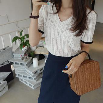 707279 - Cloud Knit Blanc Knit