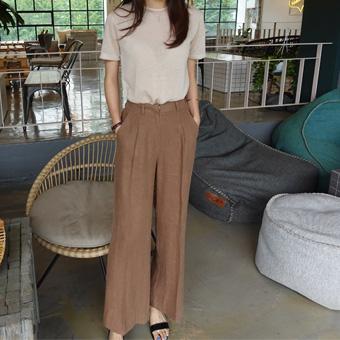 707415 - Showroom linen pants