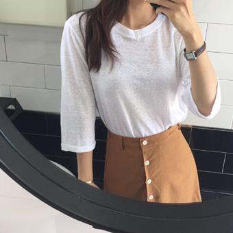 707966 - Latex linen T-shirt