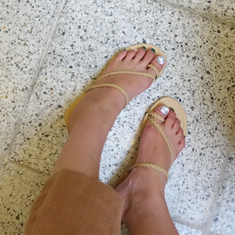 709656 - Twisted shoe shoes