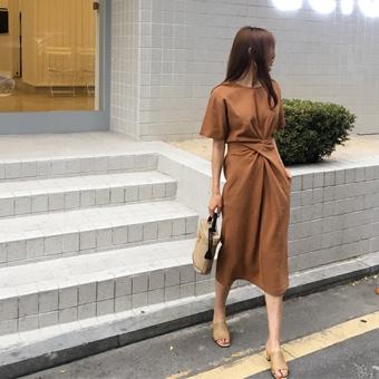 710354 - Course linen dress