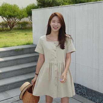 713253 - Madeleine Linen dress