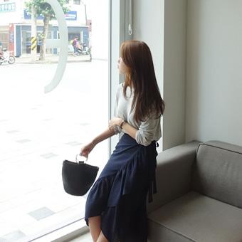 715781 - Shearing wrap skirt