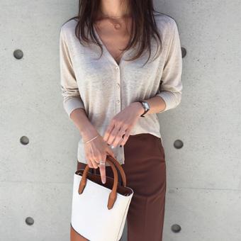 715995 - Natural Linen Cardigan
