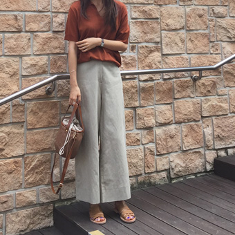 717146 - Wide banding with pants