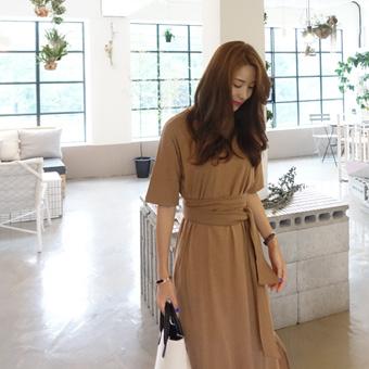 717176 - Span Long strap dress