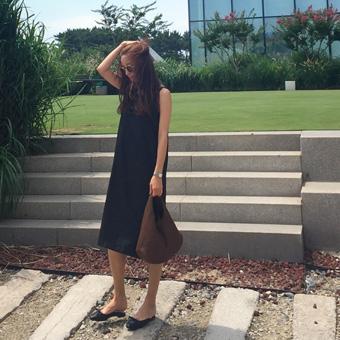 718848 - Square slit dress