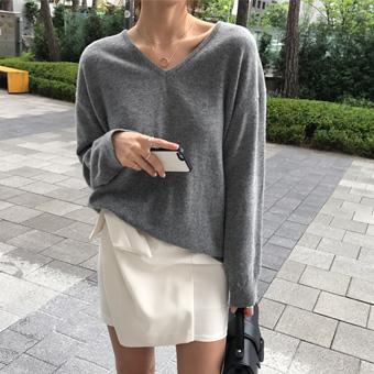 719542 - Raglan Wool Knit