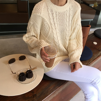 720977 - Bleached Knit