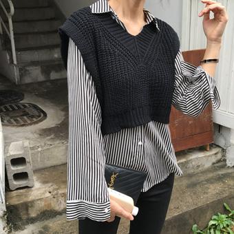 720683 - Franc stripe blouse