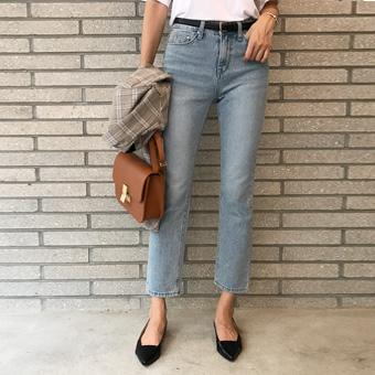 721123 - Straight blue pants