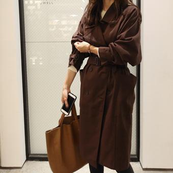 726941 - Brown Trench Coat