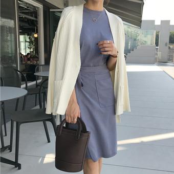 728315 - Melting knit dress