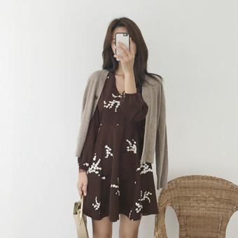 729688 - Plum mini dress