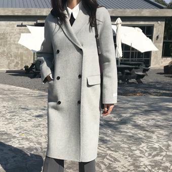 736828 - Basic Double Handmade Coat